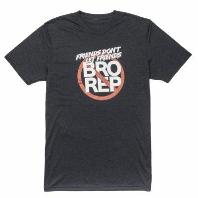 Bro-Rep Shirt in Black