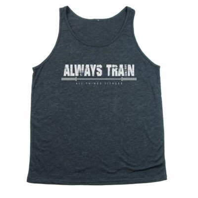 Always Train Charcoal Tank Top